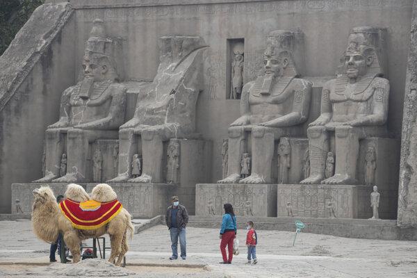 Turisti v Egypte