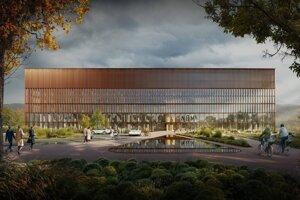 Takto by mala nová nemocnica v Martine vyzerať.