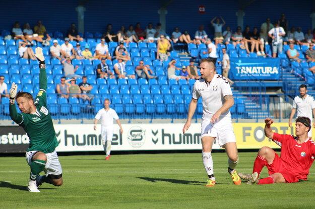 Andrej Fišan vo finále pohárového zápasu Sportika Cup Hlboké - Rybky