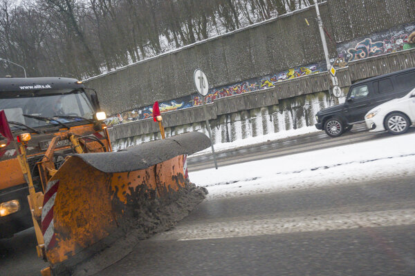 V niektorých okresoch Slovenska môže nasnežiť.