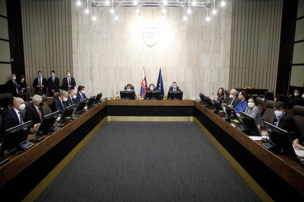 Zasadnutie vlády