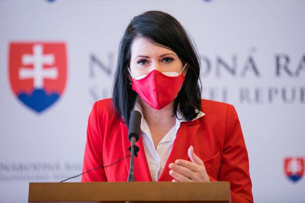 Predsedníčka Výboru Národnej rady SR pre zdravotníctvo Jana Bittó Cigániková (SaS).