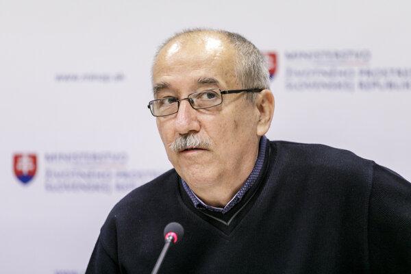 Klimatológ Slovenského hydrometeorologického ústavu (SHMÚ) Pavol Faško.
