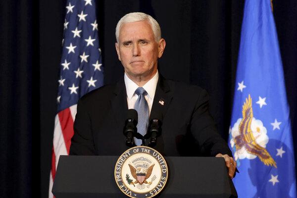 Bývalý americký viceprezident Mike Pence.