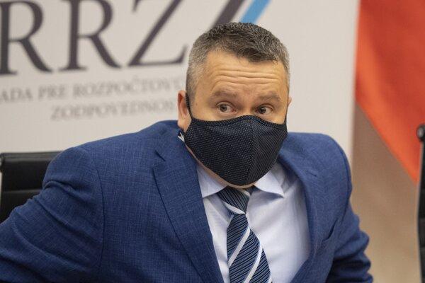 Predseda Rady pre rozpočtovú zodpovednosť (RRZ) Ján Tóth.