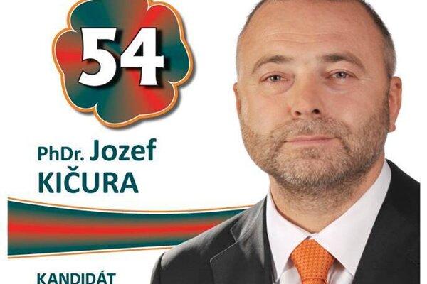 Generálny riaditeľ SAD Prešov a krajský poslanec Jozef Kičura.
