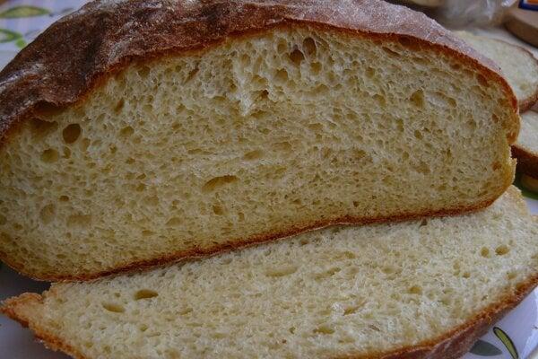 Zemiakový chlebík.