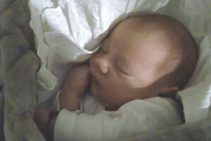 Nicolas Čordáš (3500 g a 50 cm) sa narodil 17. marca mamine Zuzane Melicherovej a ocinovi Štefanovi Čordášovi zo Želiezoviec.