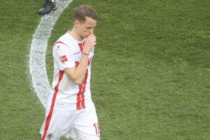 Ondrej Duda v drese 1. FC Kolín.