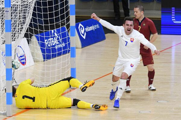 Slovenskí futsalisti zvíťazili v Moldavsku a slávia historický postup na európsky šampionát