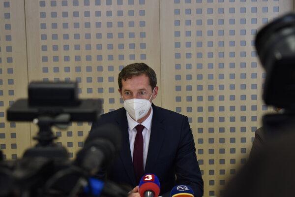 Predseda PSK Milan Majerský (KDH).
