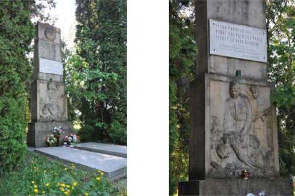 Na cintoríne Brezová ulica sa nachádza pamätník padlým II. svetovej vojny.