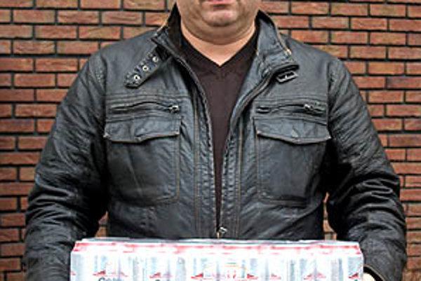 Pre kartón piva Corgoň si prišiel Miroslav Szlamka z Váhoviec.