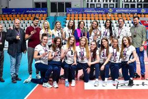 Volejbalistky UKF Nitra získali druhý bronz v klubovej histórii.