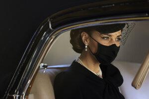 Kate Middleton, vojvodkyňa z Cambridge.