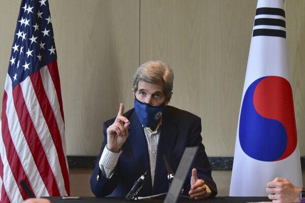 John Kerry v Južne Kórei