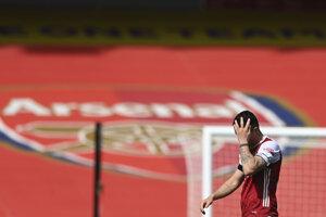 Granit Xhaka z tímu Arsenal Londýn.