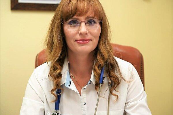 Lekárka Adela Englerová sa oonkologických pacientov stará už pätnásť rokov.