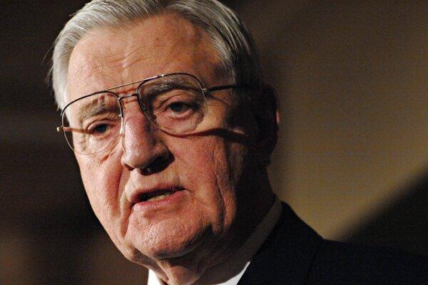 Walter Mondale na snímke z roku 2007.