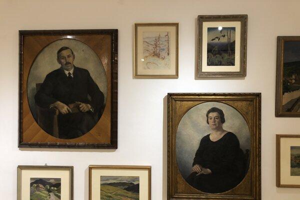 Portréty mecenášov Bálinthovcov na výstave Edmund Gwerk: Paralely a paradoxy v GMB