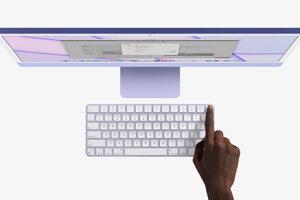 Nová klávesnica od Apple má v sebe zabudovaný TouchID senzor na odomykanie prostredníctvom odtlačkov prstov.