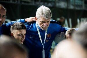 Ladislav Borbély, tréner SR v malom futbale.