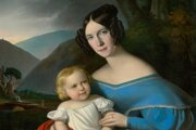 Jakab Marastoni, Matka s dieťaťom, 1833-1836, Slovenská národná galéria.
