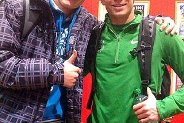 Hugo Korman a Jesse Williams, majster sveta z roku 2011.