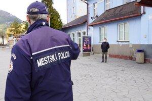 Mestská polícia Ružomberok.
