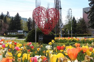 Srdce Vďaky v Lučenci.