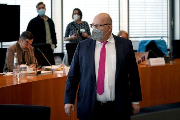 Nemecký minister hospodárstva Peter Altmaier.