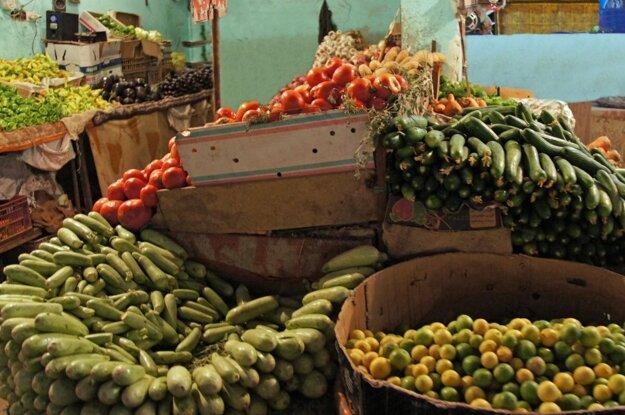 Tradičný trh v Hurghade
