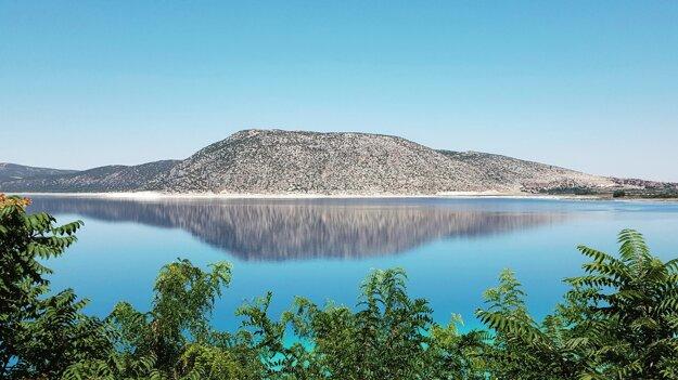Jazero Salda.