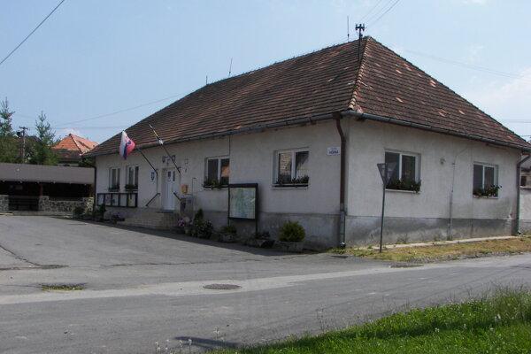 Obecný úrad v Babinej.