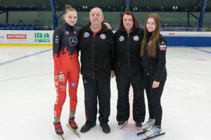 Mladej športovkyni pomáha v ceste za vysnívaným cieľom najmä rodina.