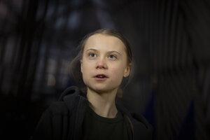 Švédska klimatická aktivistka Greta Thunbergová.