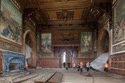 Opravené časti rusovského kaštiela si už vyžadujú opravu.
