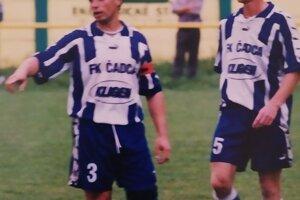 So Štefanom Kavuliakom tvorili silnú dvojicu v obrane FK Čadca.