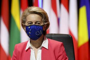 Predsedníčka Európskej komisie Ursula von der Leyen