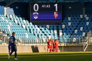Neveľká Sereď sa zase tešila v Nitre. Stodvanásťročný klub smeruje k piatemu vypadnutiu z prvej slovenskej ligy.