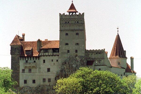 Hrad Bran v rumunskej Transylvánii.