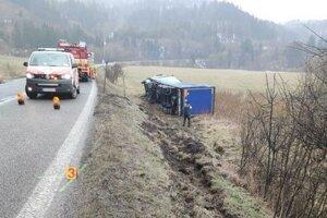 Vodič tohto poľského kamióna mal v dychu viac ako päť promile alkoholu.