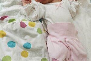 Tamara Kačenová (3510 g, 48 cm) sa narodila 27. apríla Kataríne a Jurajovi zo Soblahova.
