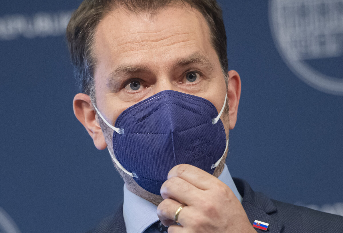 Matoviča zaočkovali ruskou vakcínou Sputnik V - SME