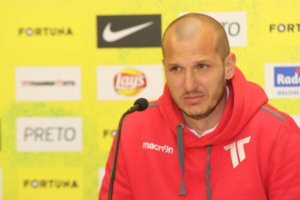 Tréner Juraj Ančic.