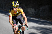 Novozélandský cyklista George Bennett.