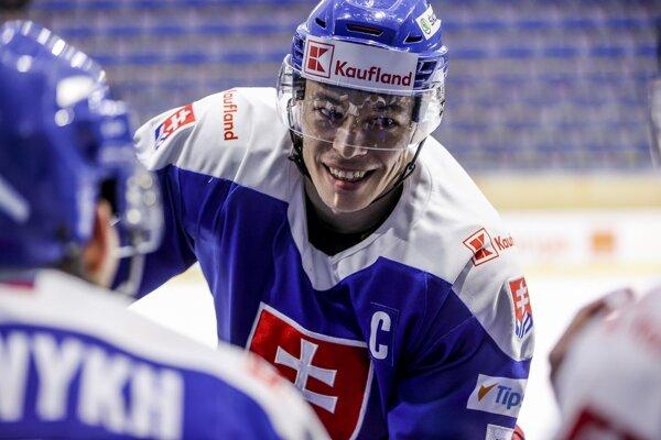Marek Ďaloga v reprezentačnom drese.