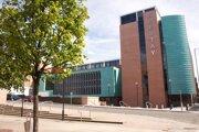 Univerzita Abertay v Dundee.