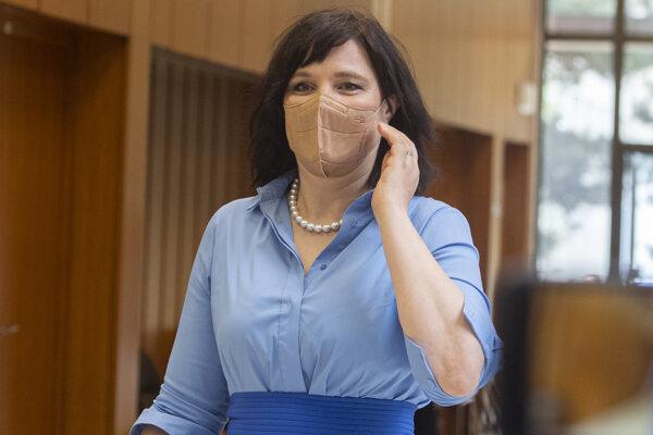 Ministerka pre investície Veronika Remišová.