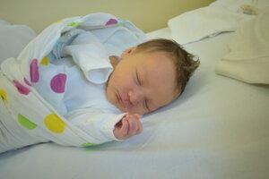 Vivien Findorová (3400 g, 51 cm) sa narodila 11. mája Nikole a Martinovi z Ostratíc.